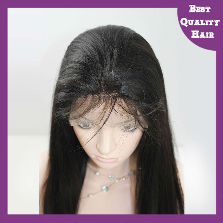 20 inch in stock virgin hair full lace wig wholesale