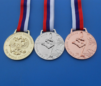 Russian country flag lanyard Figure skating gymnastics sport medals