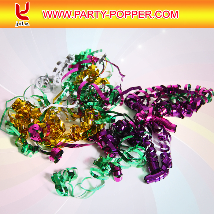 Mini Streamer Shooter/Small Spring Party Popper/Metallic Streamer