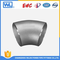 Stainless steel pipe fitting 45 degree elbow made in china