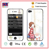 Full cover girl mobile phone sticker for iphone