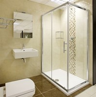 DOMO free standing shower enclosure/enclosed shower cabin price