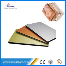 4mm Kynar 500 PVDF Aluminum Composite Panels for wall cladding