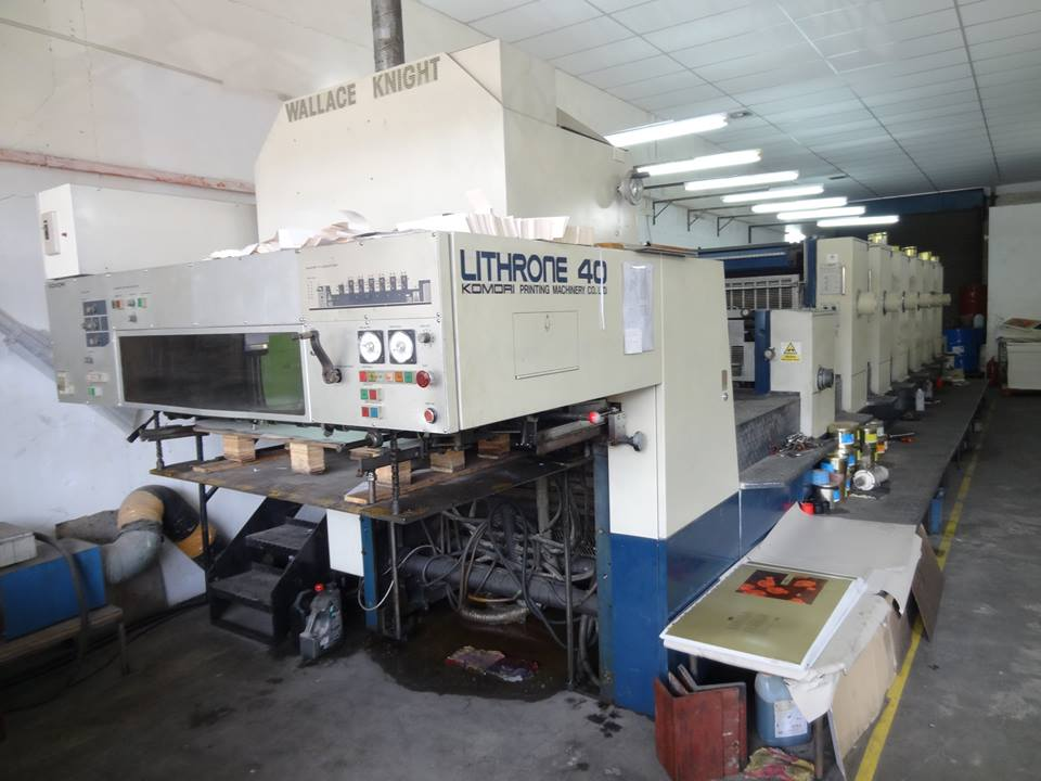 KOMORI Lithrone L640 + C(6-Color + Coater + UV)