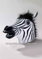 2014 hot selling king party masks celebrations madagascar 3 zebra mask