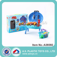 New Product Plastic Kids Kitchen Toy BBQ Tool Set