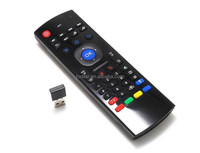latest internet tv control Wireless Air Mouse for Android TV Box MX3 wireless keyboard air fly mouse android tv box keyboard