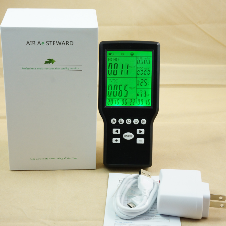 Portable Air Quality Monitor <strong>Gas</strong> Leak Detector <strong>O2</strong> Oxygen <strong>analyzer</strong>