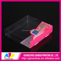luxury soap packaging box with clear pvc window