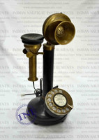 Antique Brass Phone, Marine Gift Telephone, Home Decor Item