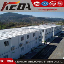 Prefabricated House Container / Modular Container Home / Site Camp Office Container 375