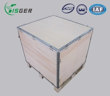 High Quality Customized Collapsible Wooden Box for Wine Shipment Crate
