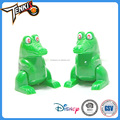 Funny Variety Lovely Crocodile Pattern ABS Plastic Wind Up Baby Toy for wholesale