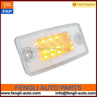 8-LED Visor/Cab Marker Sealed Light with Clear Lens for Freightliner Century amd Columbia 76321
