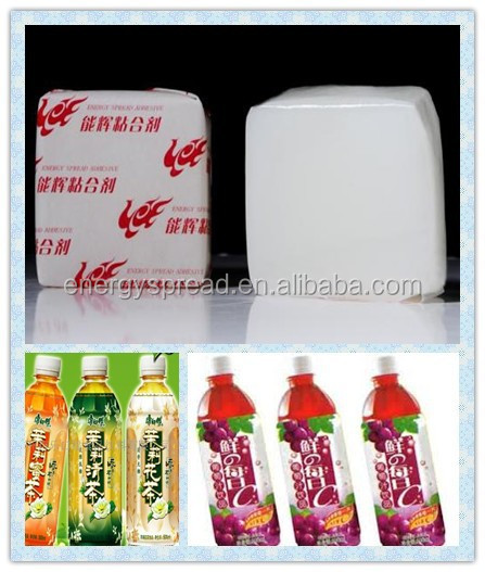China supply PSA hot melt glue for bottle labeling
