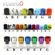 Vaping supplies tip drip e cigarette 510 colorful acrylic drip tip with cheap price