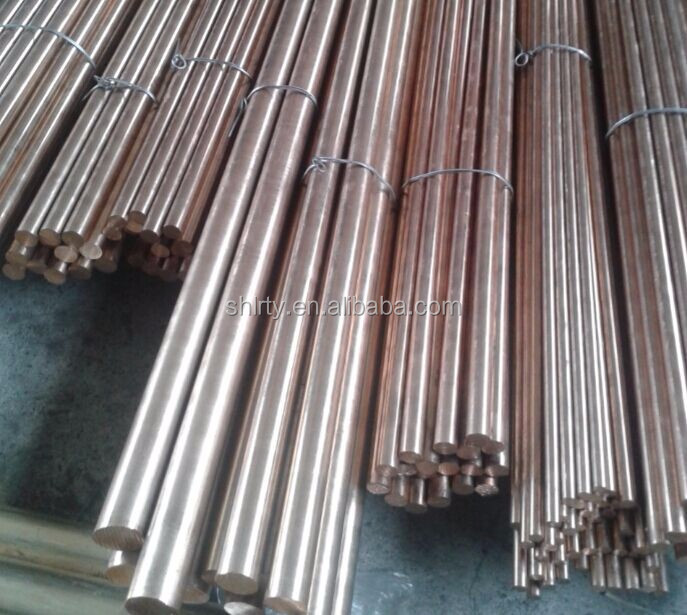 Phosphor bronze bar CuSn6 PB102 PB101 C51900 C5191 bronze rod