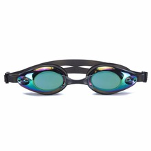 Popular customized adjustable adult anti fog silicone swimming goggles wholesale