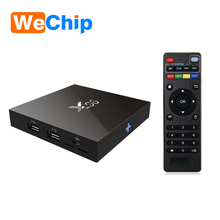 Wholesale android 6.0 marshmallow tv box Wechip X96 amlogic s905X TV BOX 2gb 16gb with keyboard
