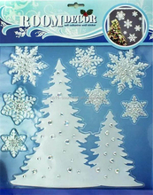 Room decoration self adhesive Christmas tree wall stickers