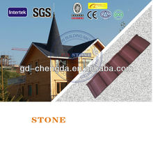 Volcanic Sand Coating Roof Sheet Of Steel Roof