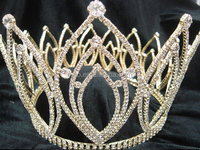 wholesale costume pageant diamond crystal decoration princess custom crown tiaras wholesale