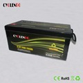 deep cyclen rechargeable lifepo4 solar battery 12v 240 ah