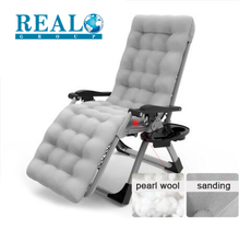 Wholesale durable outdoor folding sleeping chair message zero gravity with pearl wool mattress