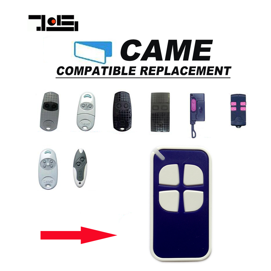 For CAME TOP432NA TOP434NA Universal Remote Control Transmitter key Fob New