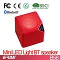 LED Cheap Bluetooth Speaker, Mini portable Bluetooth Speaker from BSCI factory