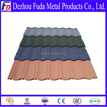 color stone coated steel roof with price/color steel roof tile