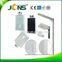 JCNS Motion Sensor Security Wall Lamp Super Bright Solar Garden Step Led Solar Light With Sensor