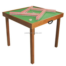 Wooden Folding Mahjong Table with Legs