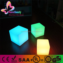 3d led lighting multi color outdoor rechargeable funky seating led outdoor furniture