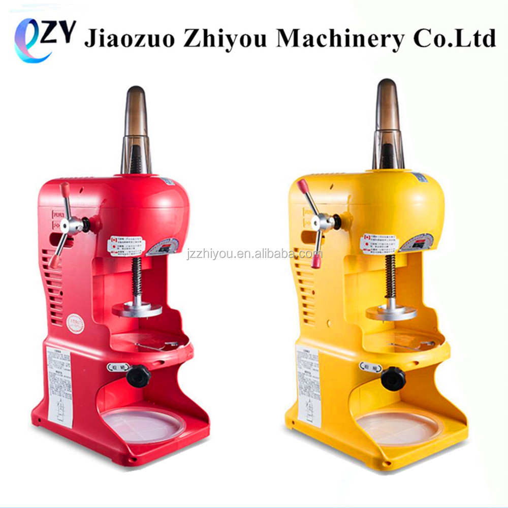 Cold drink ice crusher machine For sale/Commercial use 220v electric block shaving machine ice crusher snow(millie@jzzhiyou.com)