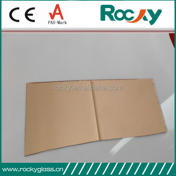 Rocky factory produce 1.1mm 1.3mm 1.5mm 1.8mm 2mm colored sheet glass mirror colour aluminum sheet mirror