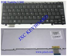 Laptop keyboard for Toshiba u300 layout SK black