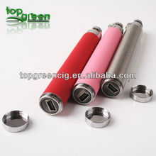 Topgreen electric cigarette ego USB battery usb passthrough ego variable voltage e cigarette