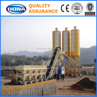CE/ISO Certificated 60m3/h Concrete Batching Plant Process Flow