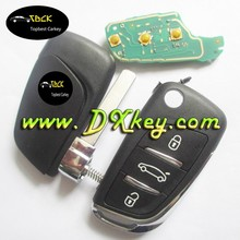 High quality 3 buttons car smart key with 434 MHz ID46 Chip/FSK/ for Peugeot remote key
