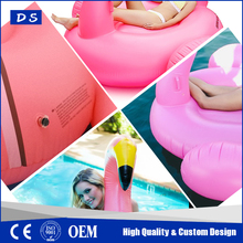 PVC inflatable flamingo beach inflatable floats for adults