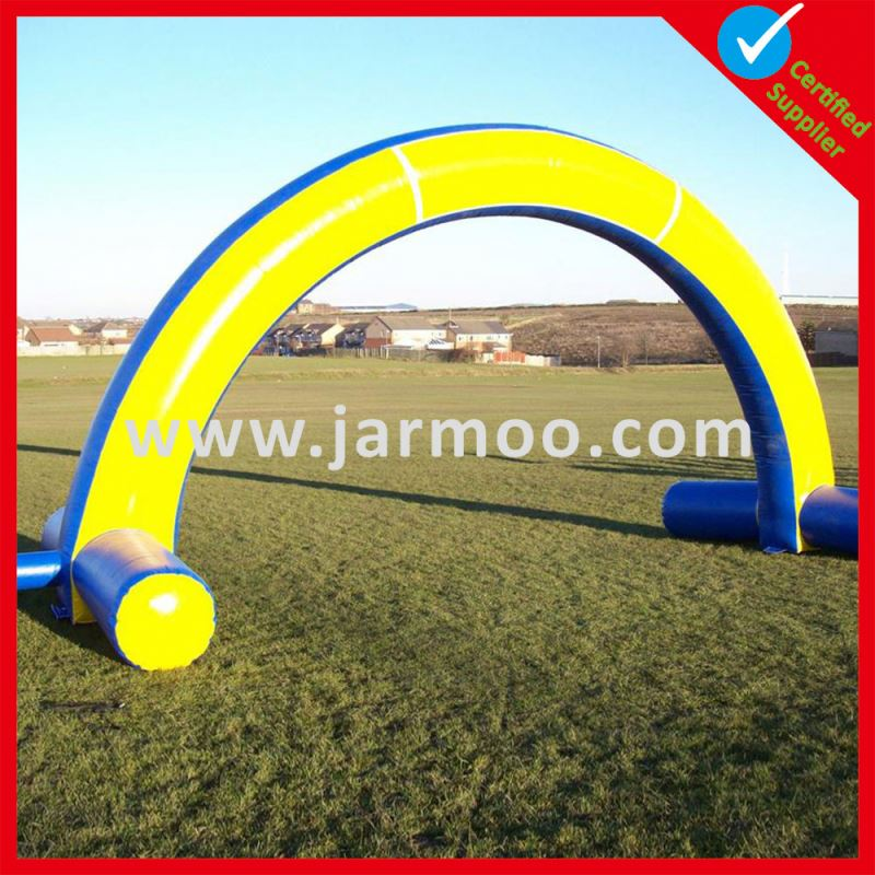 Inflatable start archway Popular size 6m 8m and 10m Cheap Price promotion inflatable arch
