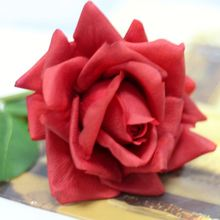 Mass Production Gergeous Artificial Rose flower images