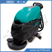 single disc scrubber with Ametek suction motor