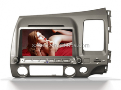 For Honda Civic Old dvd gps navigation accessories car audio system bluetooth car radio navigation system with DVD BT