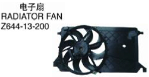 OEM Z644-13-200 FOR MAZDA 3 2005 SPORT SERIES Auto Car radiator fan