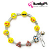 Gift Creative souvenir Emoji Kawail Poo smile face Metal Magnetic Photo Cable