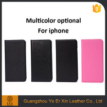 Newest fashional protective free sample leather mobile phone case for iphone 6s/7/7plus
