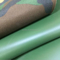 600D camouflage polyester oxford fabric with PVC/polyester oxford fabric