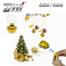 korean mini car toys for children DWI 1/28 Christmas Ball Shape Gift Decor toys children cars
